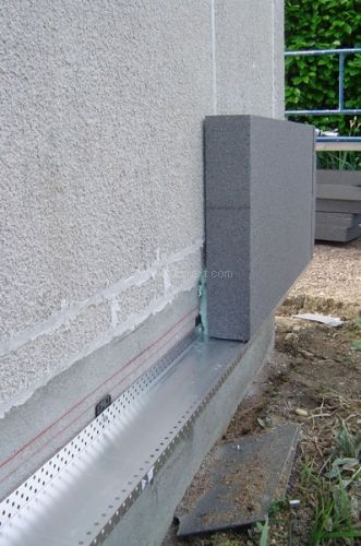 Panneau de polystyrène graphité Pour systèmes collés ou calé
