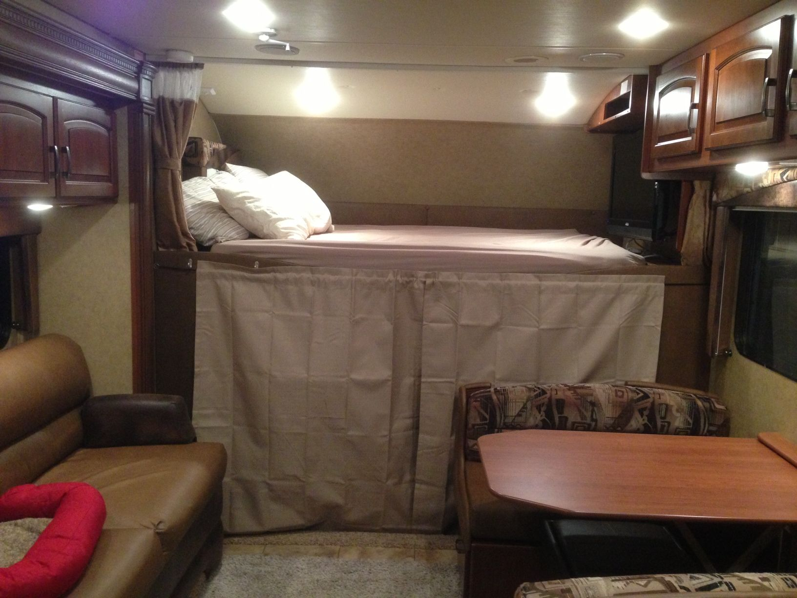 Rv curtains motorhome class a - The Cab Area Of An Rv Can Experience A Lot Of Heat Transfer Making The