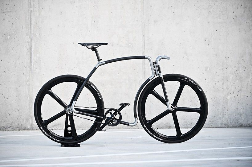 velonia bicycles celebrate their viks design with a carbon fiber version