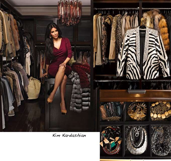 Celebrity wardrobes: Inside the closets of the Kardashians ...