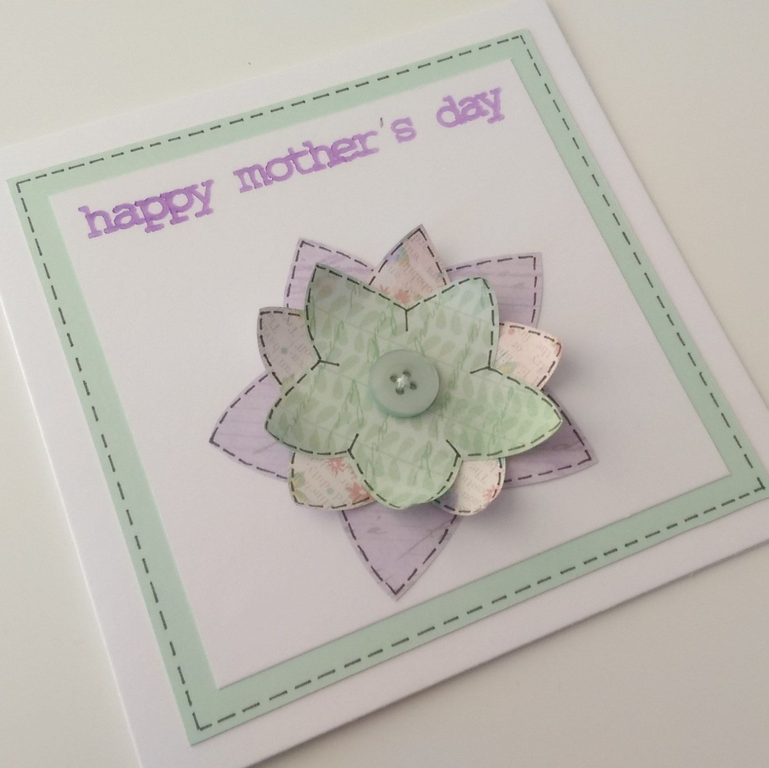 Mother S Day Card Mother S Day Mothering Sunday Mothers Day Card Mum Mam Mom Mummy Mama 3d Flower Grandma H Cards Mothering Sunday Happy Mothers Day