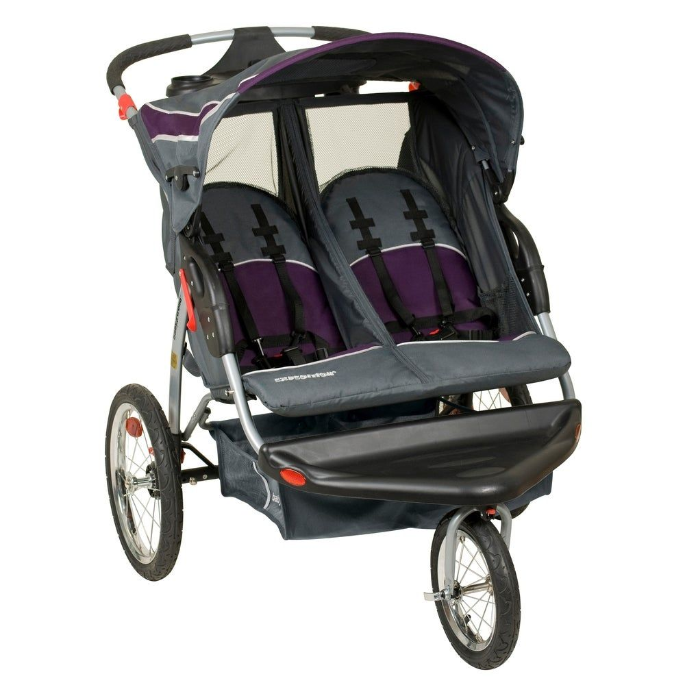 Baby Trend Expedition EX Double Jogger,Elixer, Black in