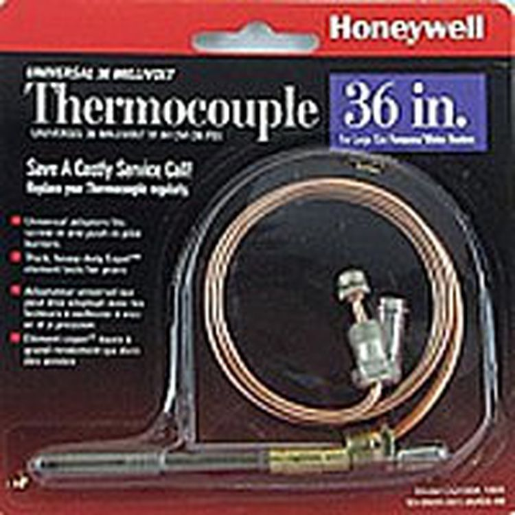 This is how to replace a furnace thermocouple or flame