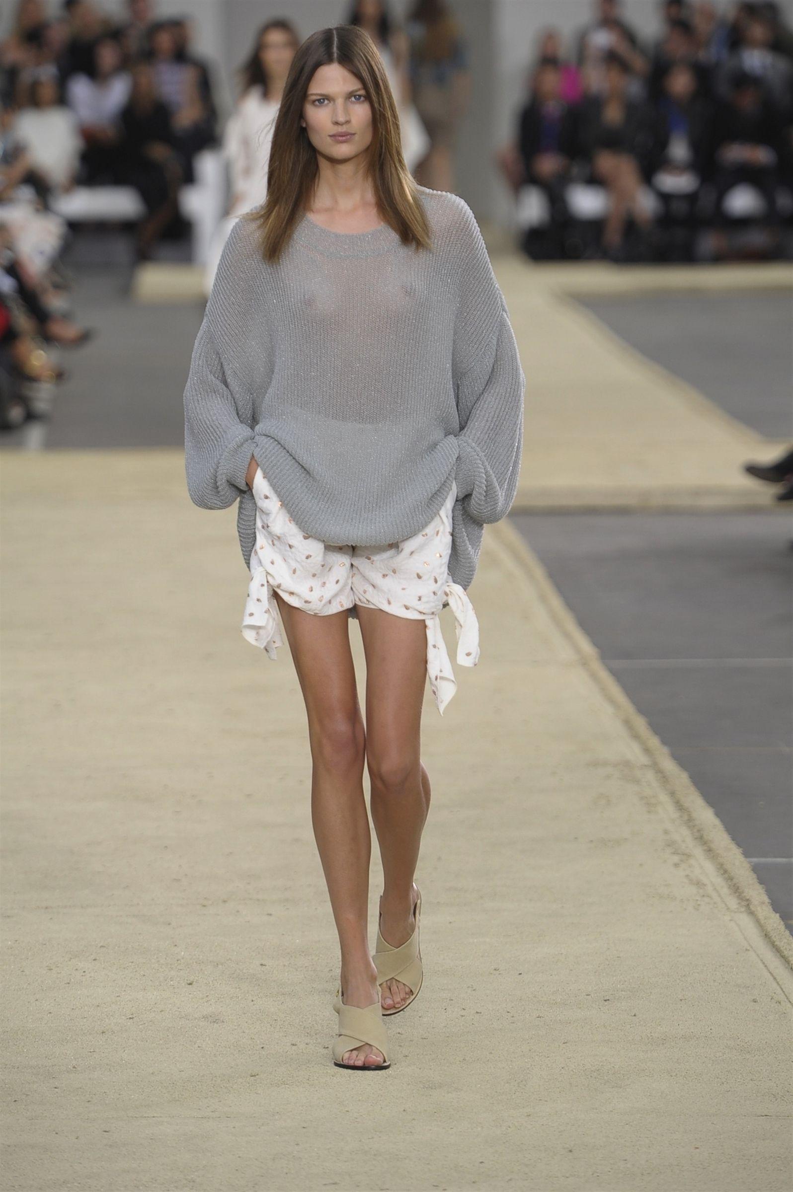 @Chloe Allen Allen SS14 runway