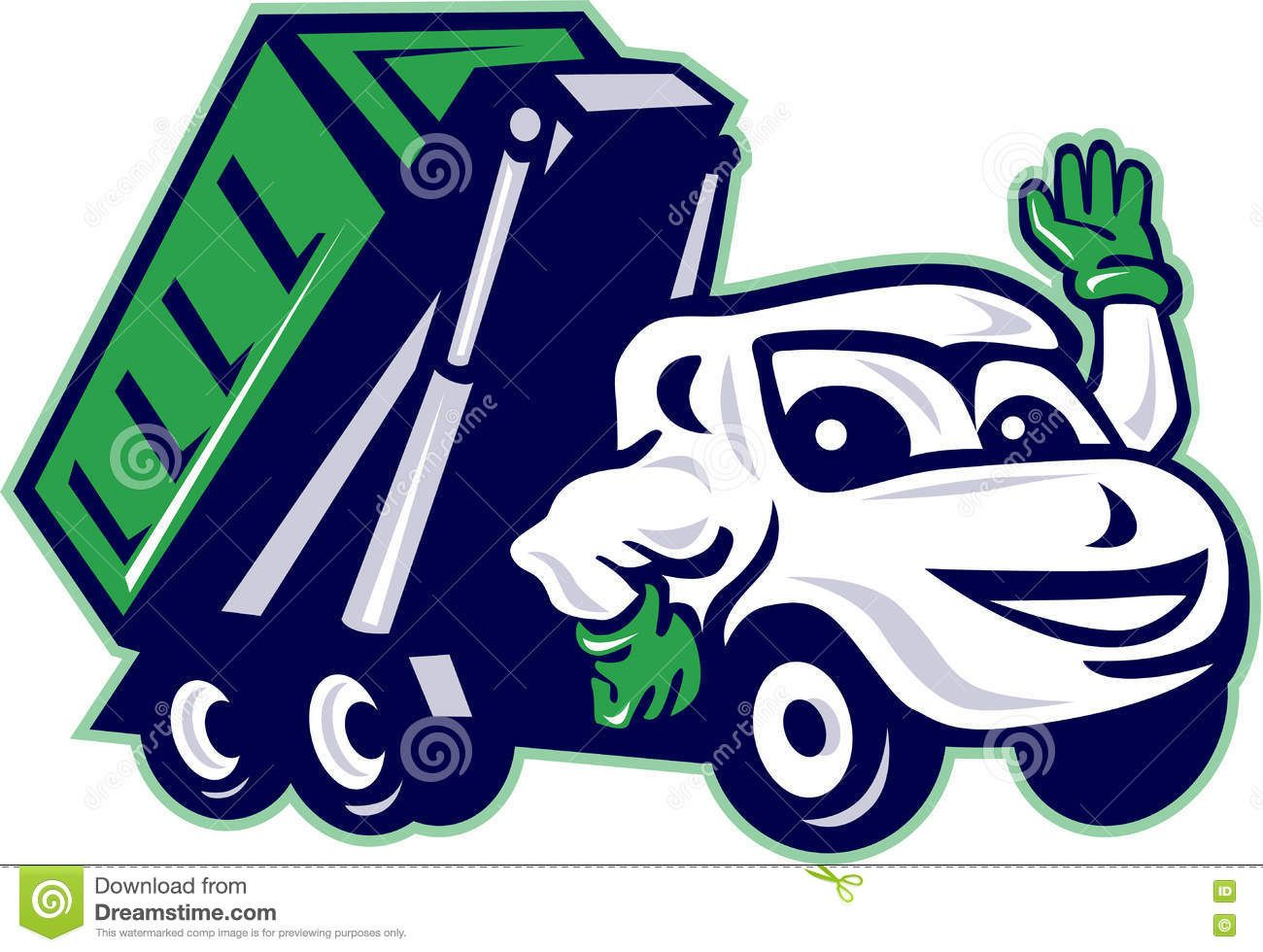 roll off truck unloading trash container dumpster stock photo rh pinterest com dumpster fire clipart dumpster diving clipart