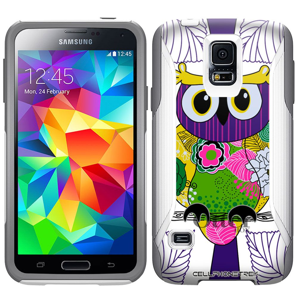 Otterbox Commuter Tropical Pink Owl Case for Samsung Galaxy S5 $49.94