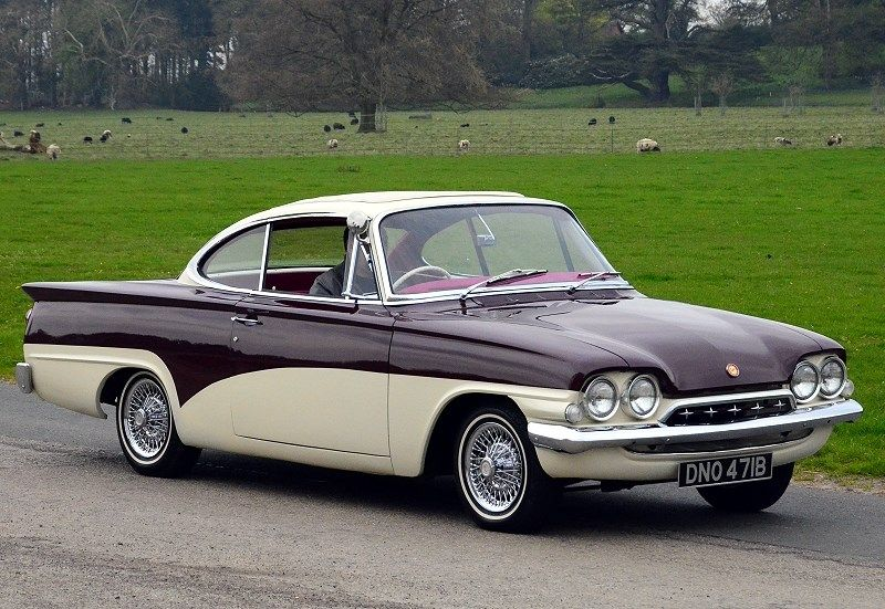 1964 Ford Consul Capri 335 1960s Cars Pinterest