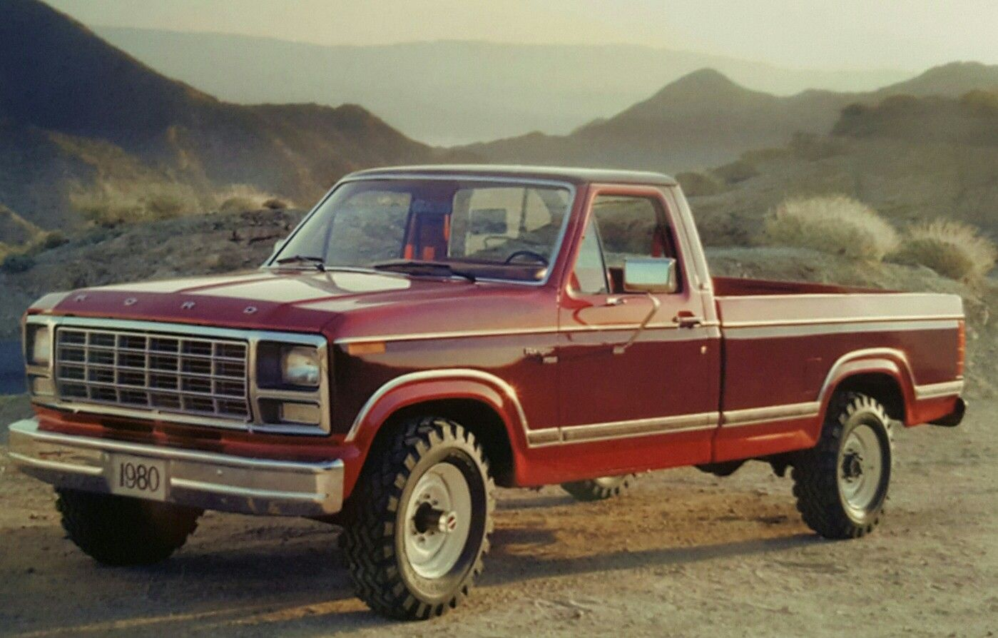 1980 Ford Ranger Xlt 4x4 Trucks Pinterest Pickup Bronco