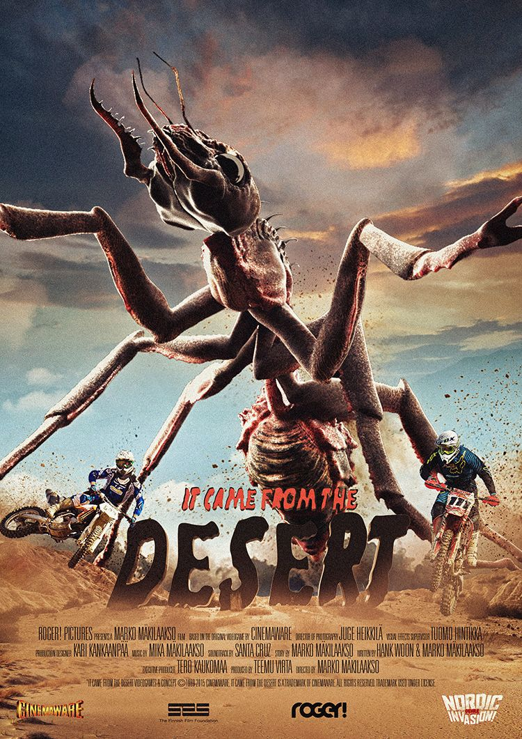 Image result for it came from the desert movie | 2010