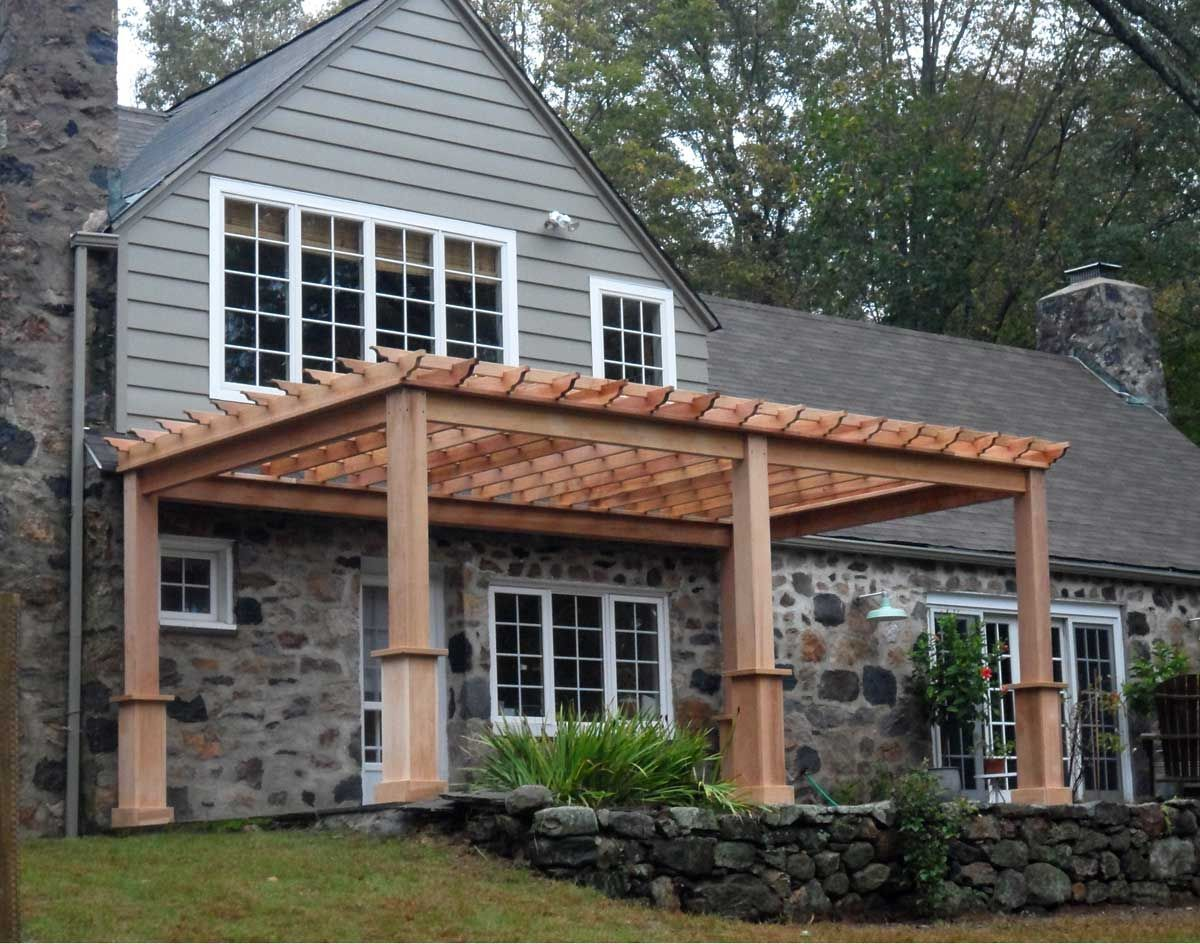 Best 25+ Cedar pergola ideas on Pinterest | Pergola patio, Pergola ...