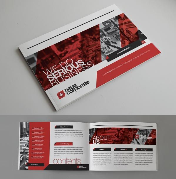 corporate brochure design inspiration nice brochures