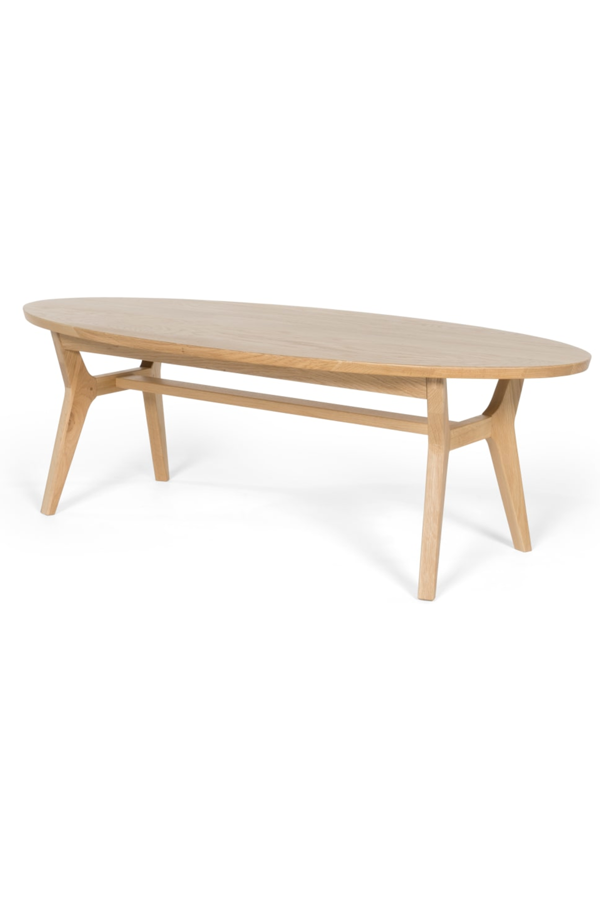 Astonishing Made Light Wood Coffee Table Products In 2019 Oval Machost Co Dining Chair Design Ideas Machostcouk