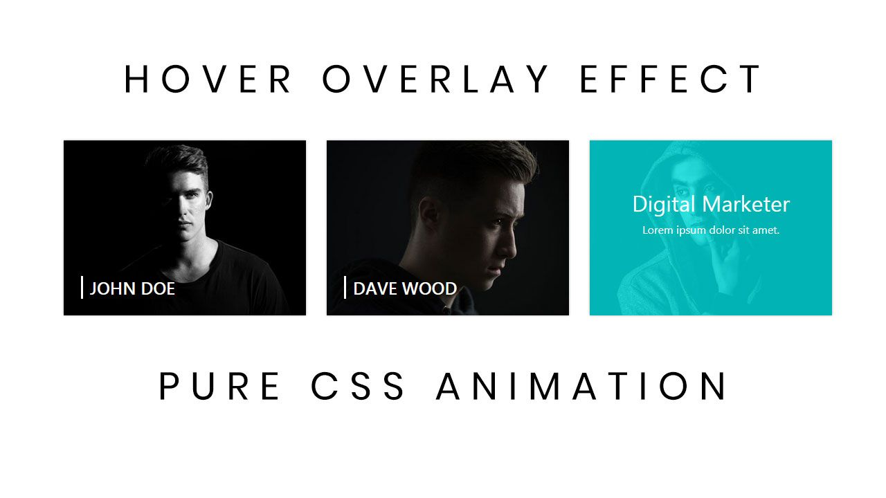 Website hover effects