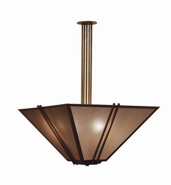 Sand Dust Pendant shown in Cajun Spice by 2nd Avenue Lighting - 871446-20
