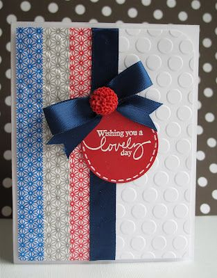 Card Make with Washi Tapes