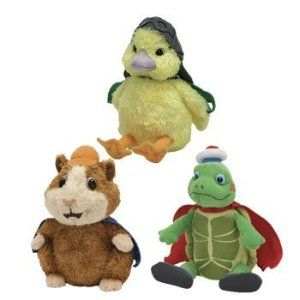 Amazon Com Ty Wonderpets Trio Kit Turtle Tuck Linny Ming Ming Toys Gam Wonder Pets Baby Beanie Kids Toy Store