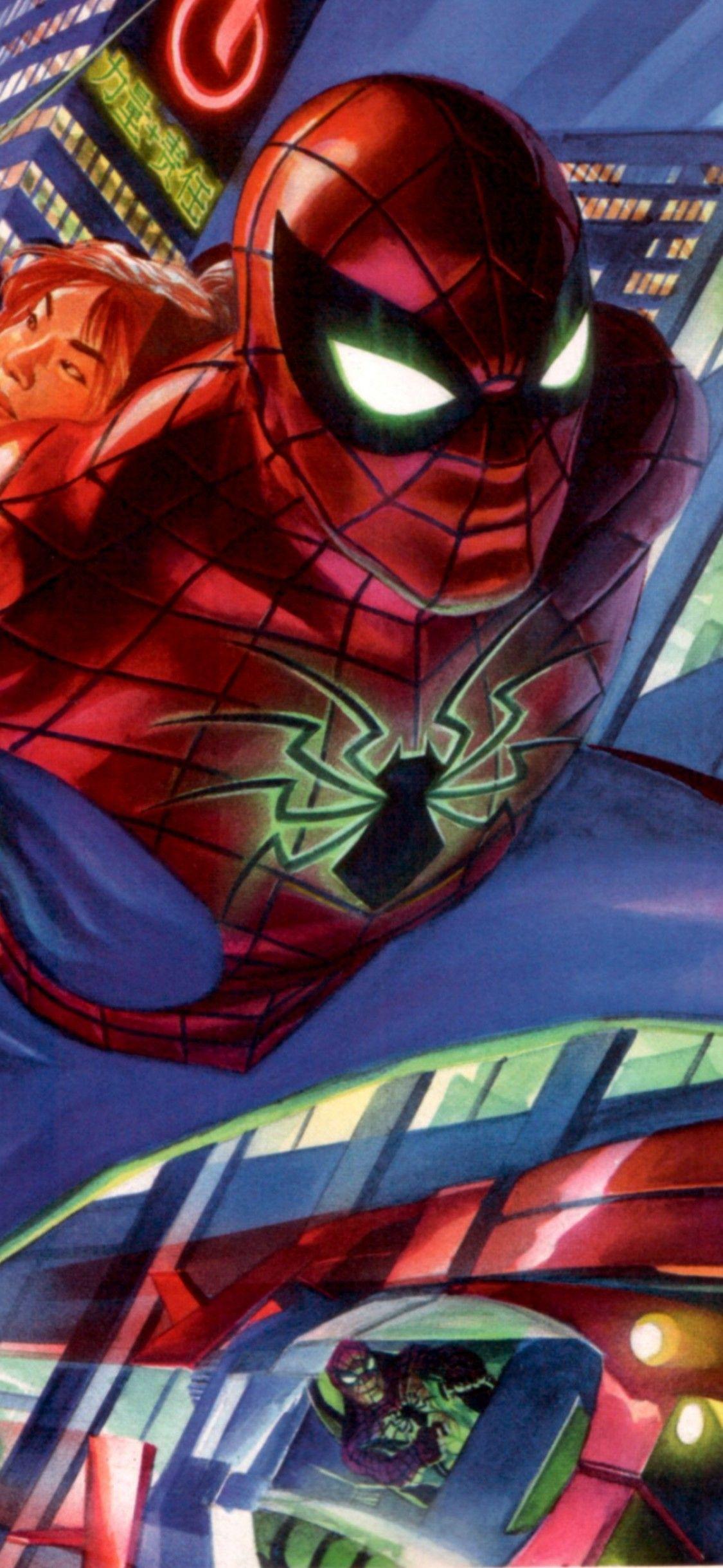Download Wallpaper 1125x2436 Spider Man 2099 Game Download Spider