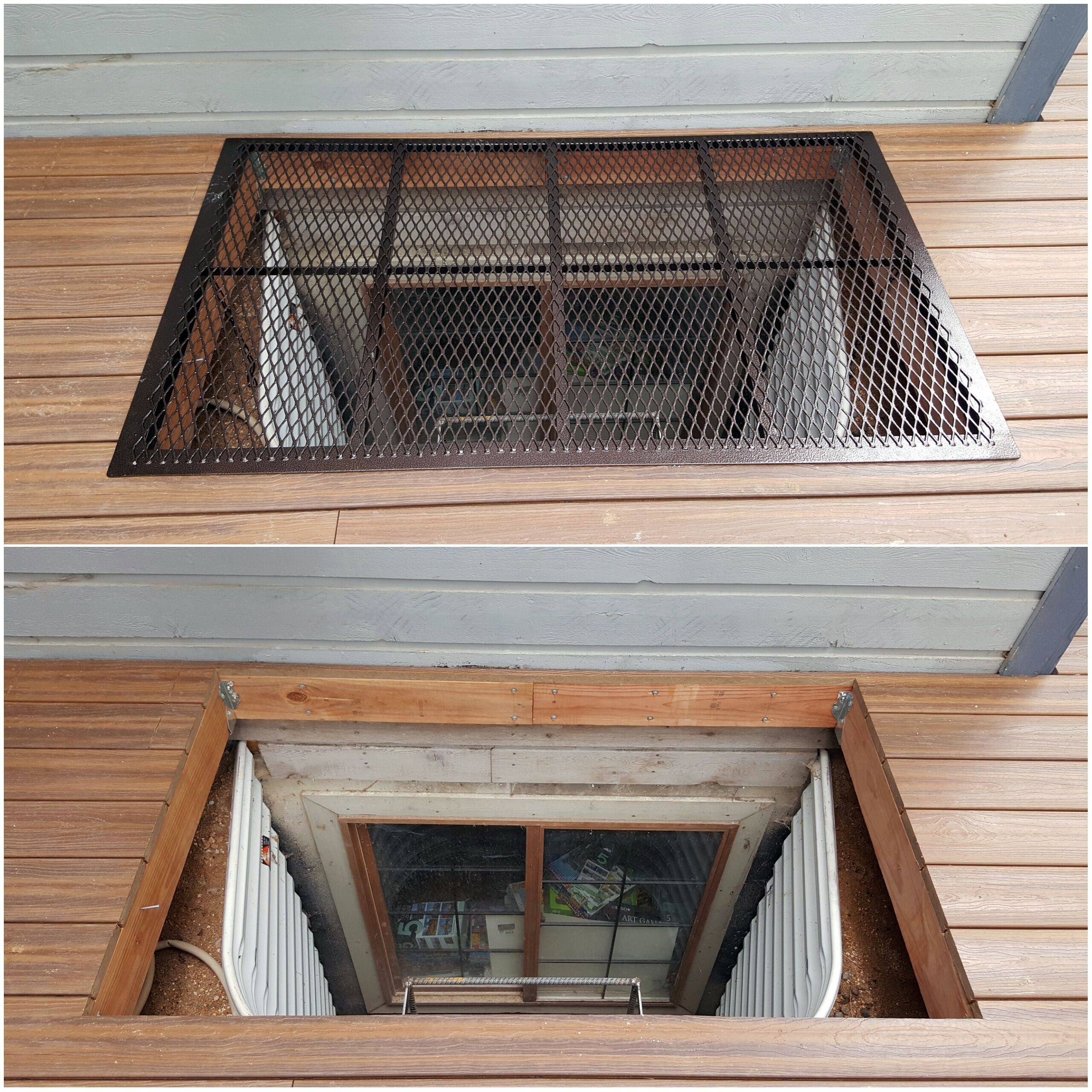 Home Window Well Covers As Well As Grates The Definitive Guide12 Minutes Read Building A Deck Window Well Window Well Cover