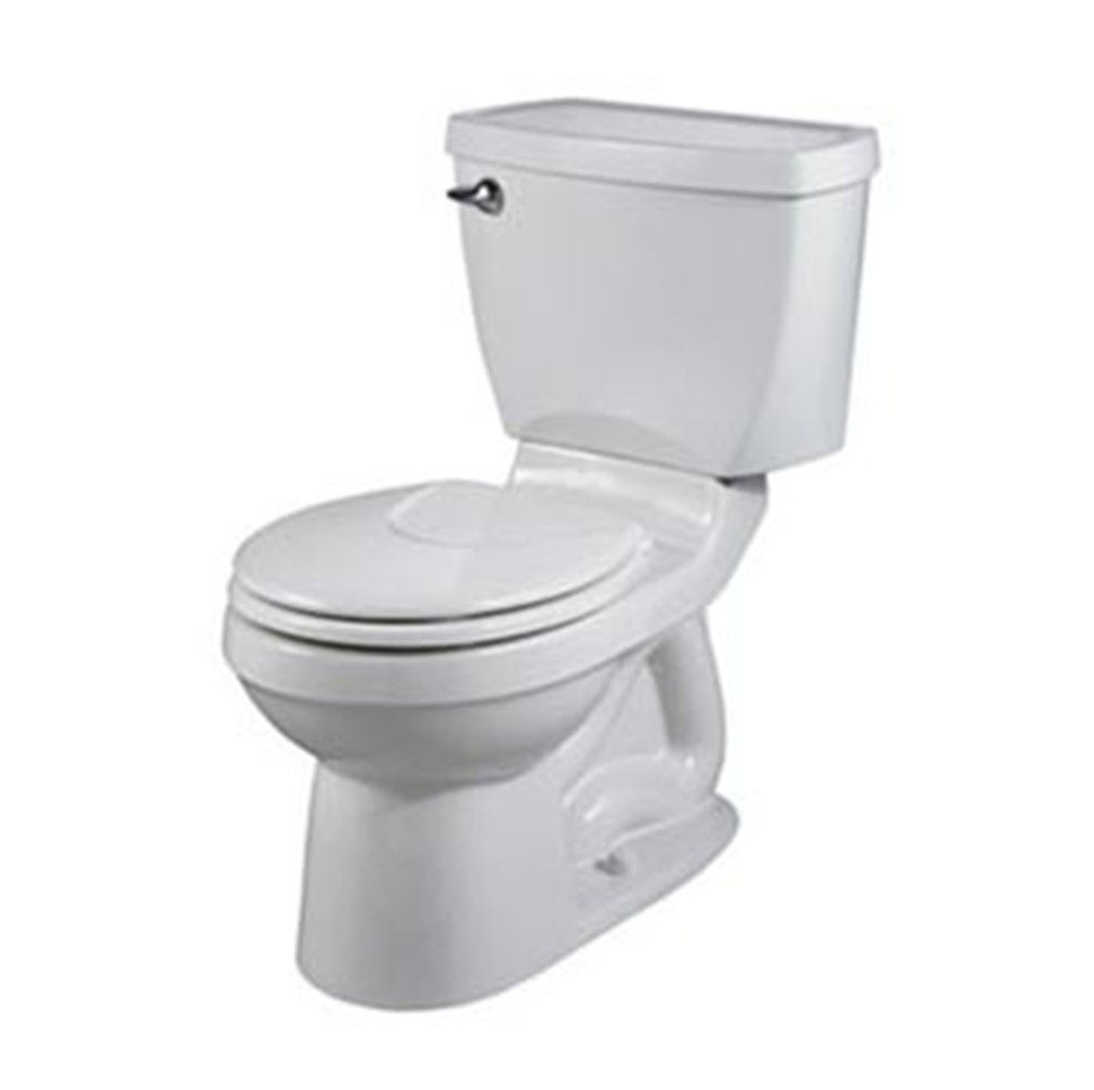 Round Front Complete Toilet With No Tools Installation And Slow