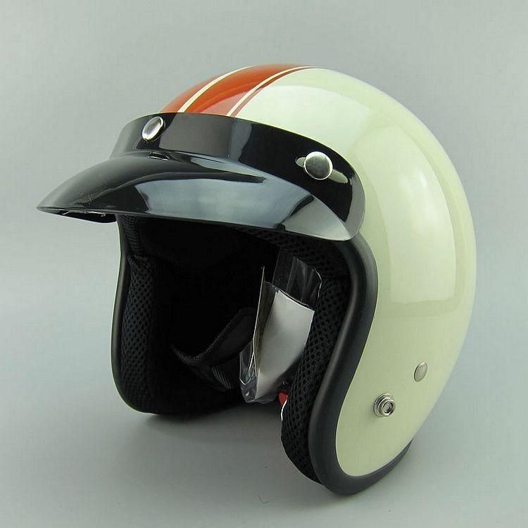 Vintage Motorcycle Helmets - Retro, Old School, Classic