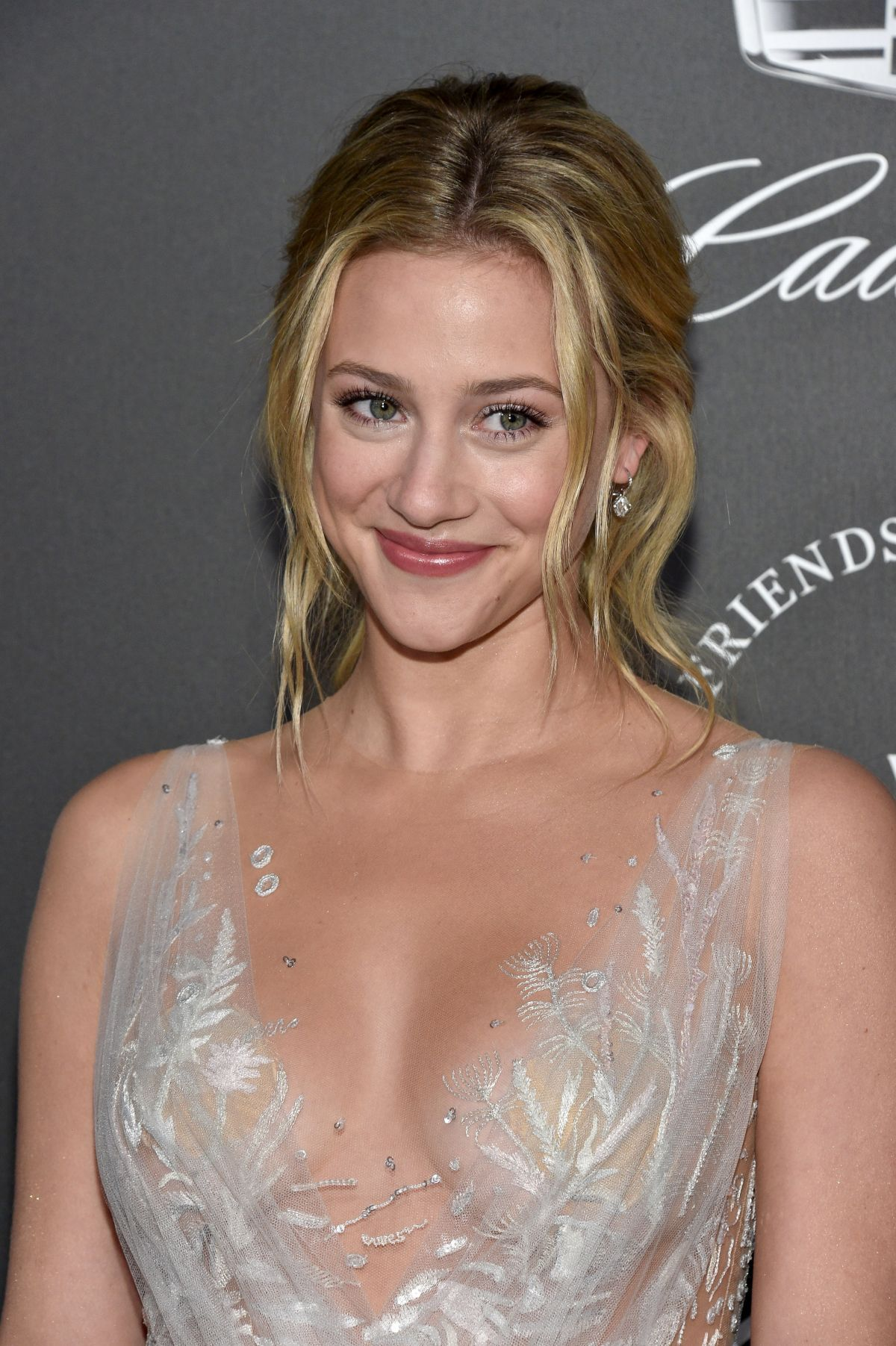 Lili Reinhart Wears Beladora Earrings To The Art Of