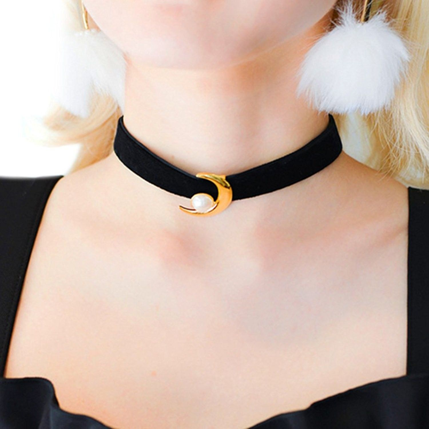 Dried flowers, Wedding necklace queen annes lace necklace Choker collar choker set Christmas gift Choker Necklace chokers for women