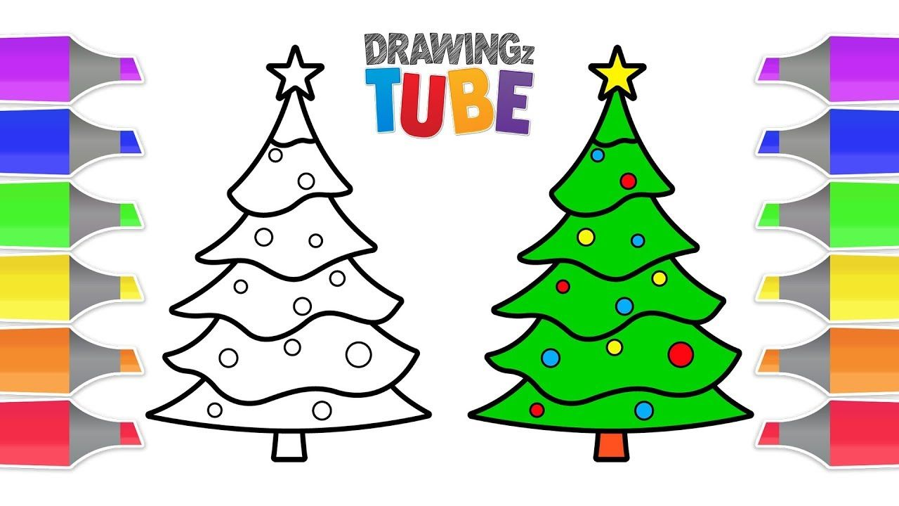 Pin By Dinu Elena On Art Christmas Drawing Drawing For Kids Drawing Videos For Kids