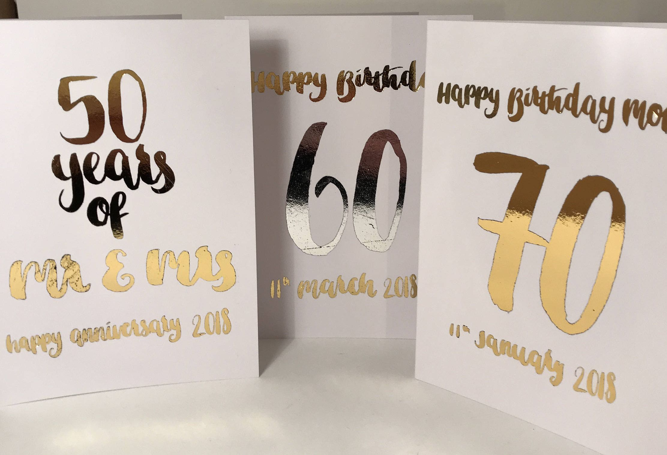Custom greeting card birthday card anniversary card by twin kim