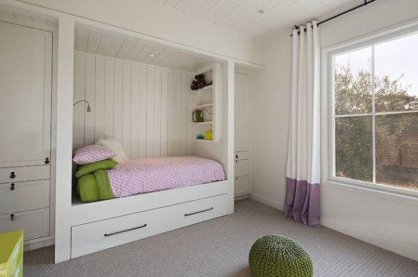 24 Cool Trundle Beds For Your Kids Room Built In Bed Queen Size