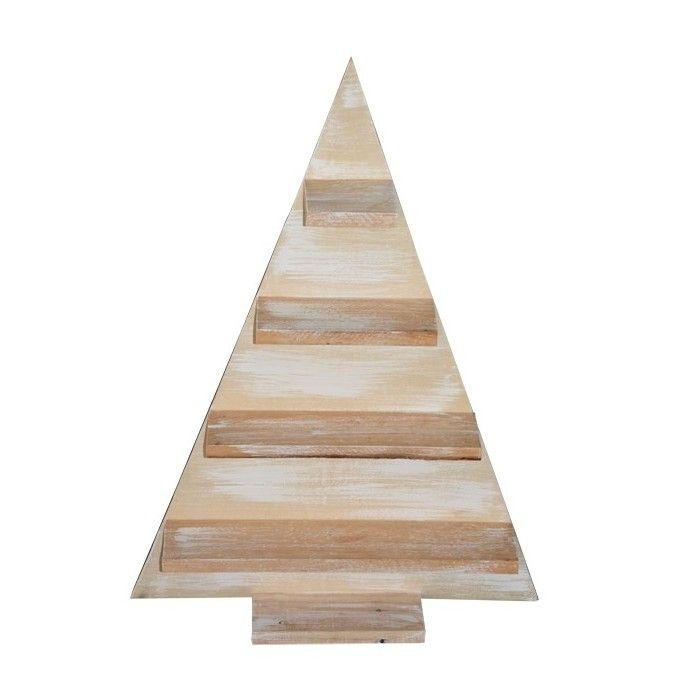 rbol de navidad madera tringulo - Arbol De Navidad De Madera