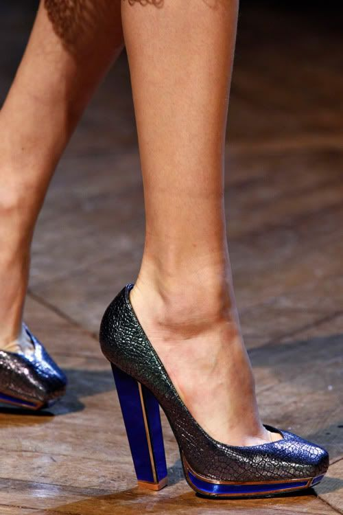 YSL Fall 2012 Shoes
