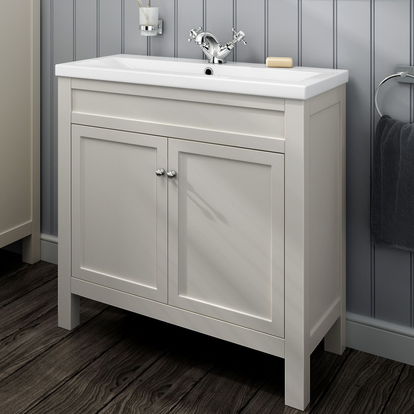 Traditional Bathroom Cabinets Furniture Vanity Unit Sink Basin