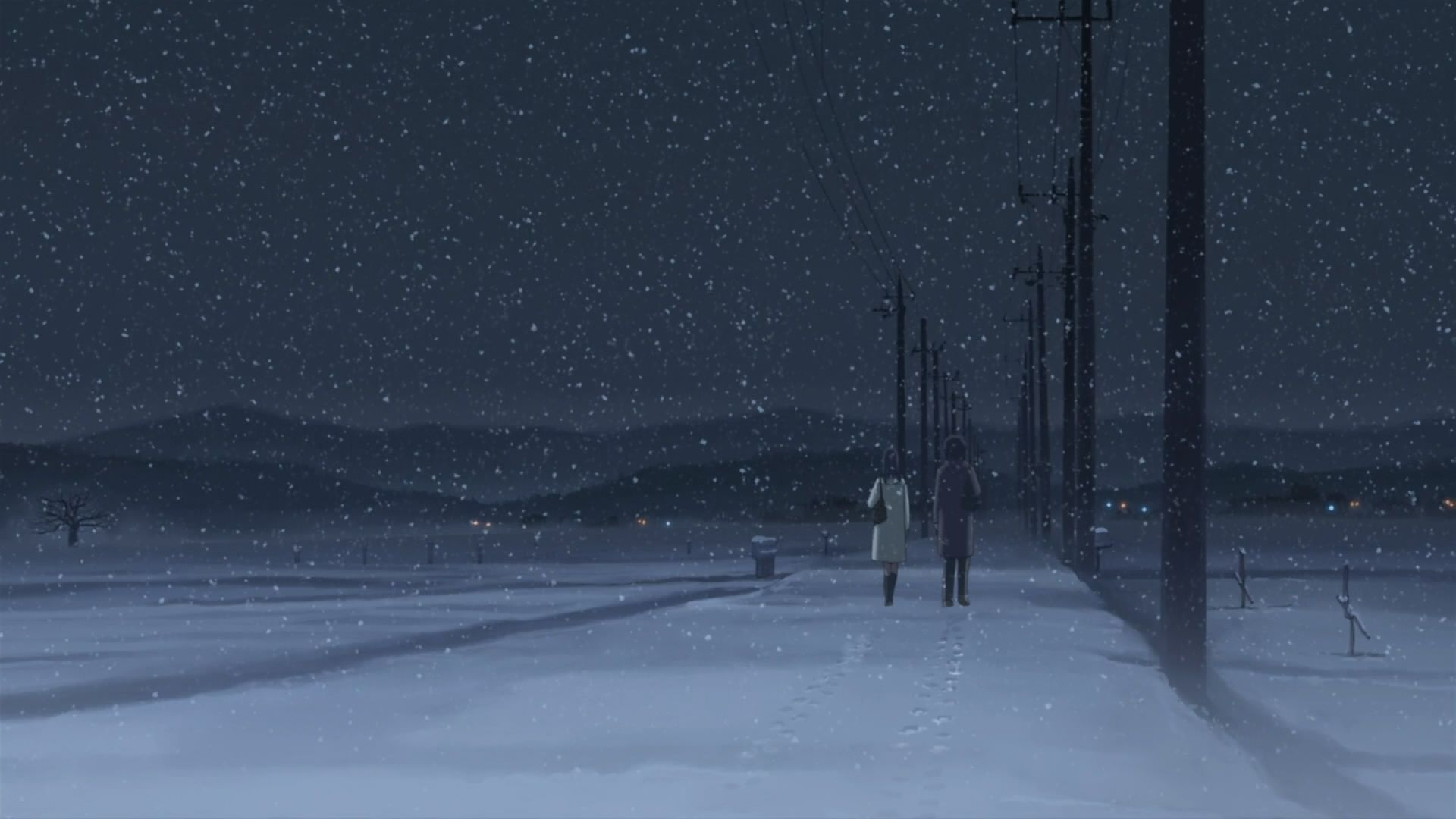 5 Centimeters Per Second Wallpaper Wallpapers HD
