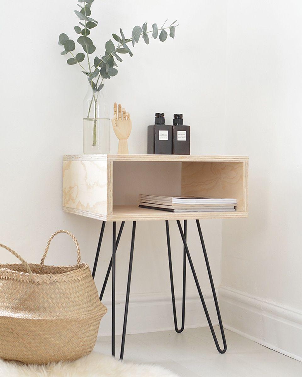 10 diy pour la d co de votre salon diy deco decor diy deco meuble contreplaqu et table - Diy deco salon ...