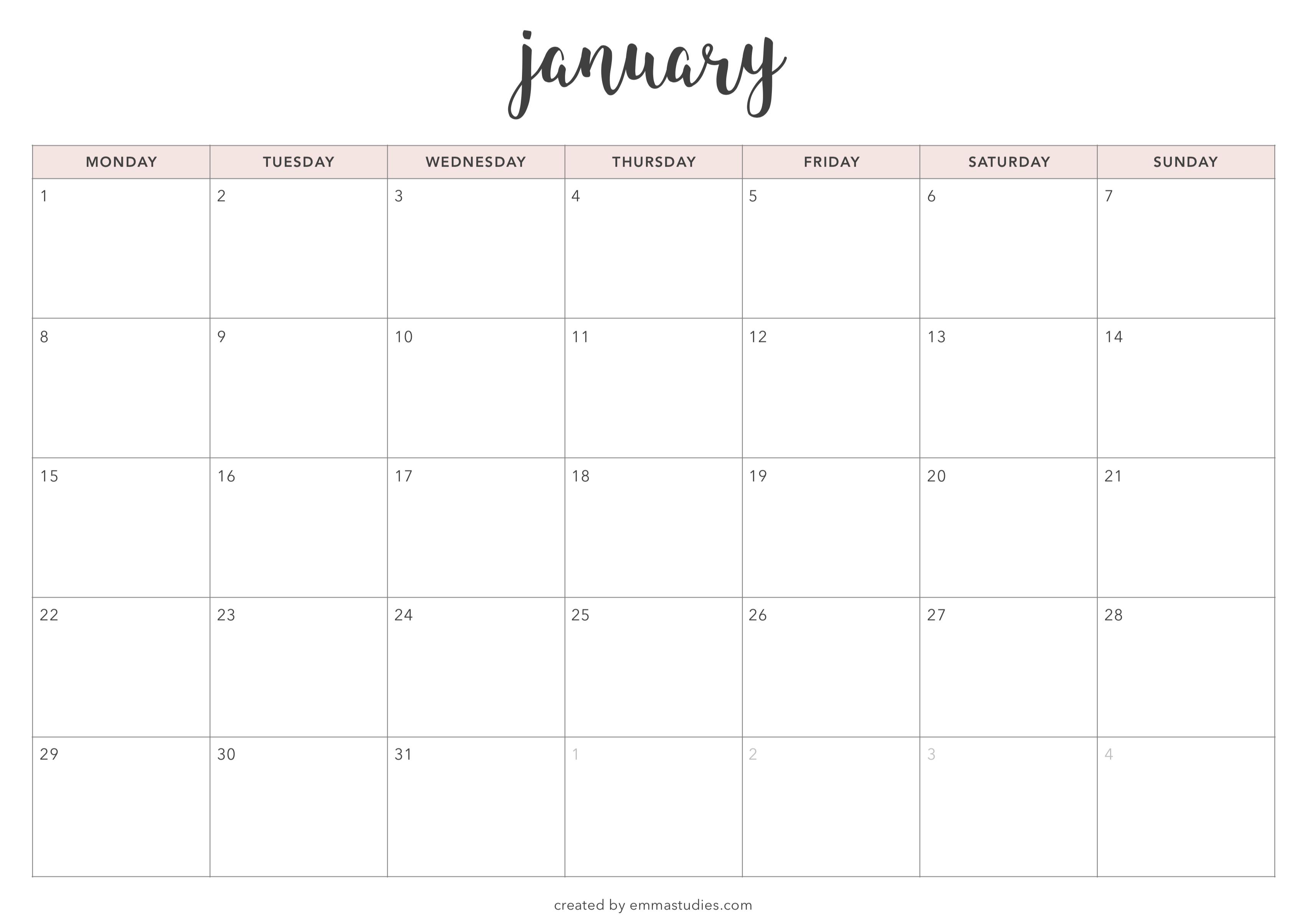 Calendario 2018 Settembre