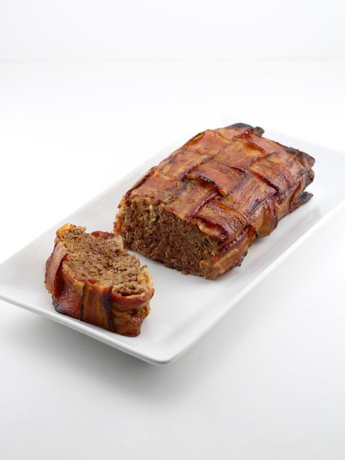 Bacon Wrapped Ground Venison Meatloaf Venison Meatloaf Venison Meatloaf Recipe Bacon Wrapped Meatloaf Recipe