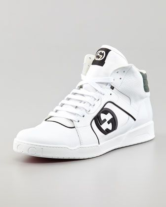bcc2955a0fe Hi-Top Rebound Sneakers White