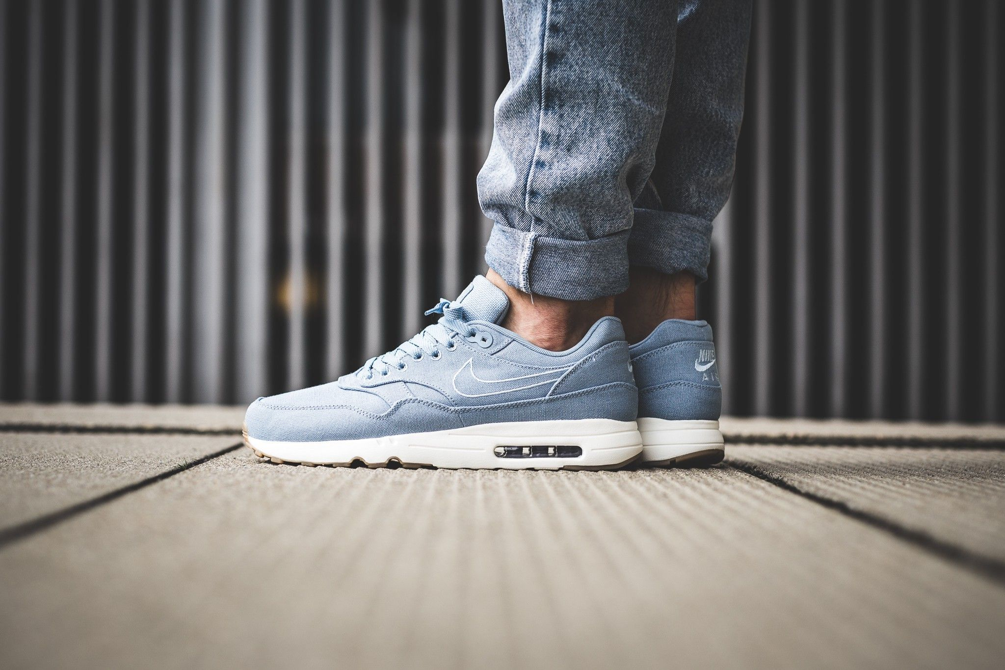 Buy Nike Air Max 1 Ultra 2.0 Textile Blue Grey Light Armoury
