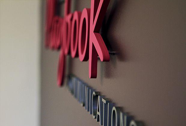 Mirror Office 3d Sign Corporate Logo Design