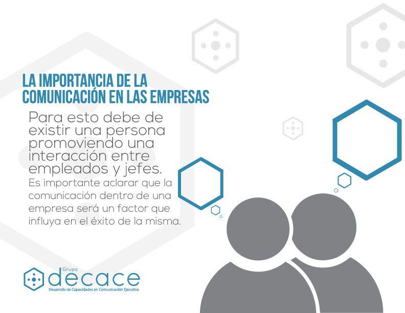 Importancia De La Comunicación De Las Empresas Comunicación Empresa Grupodecace Importancia De La Comunicacion Comunicacion Organizacional Comunicacion