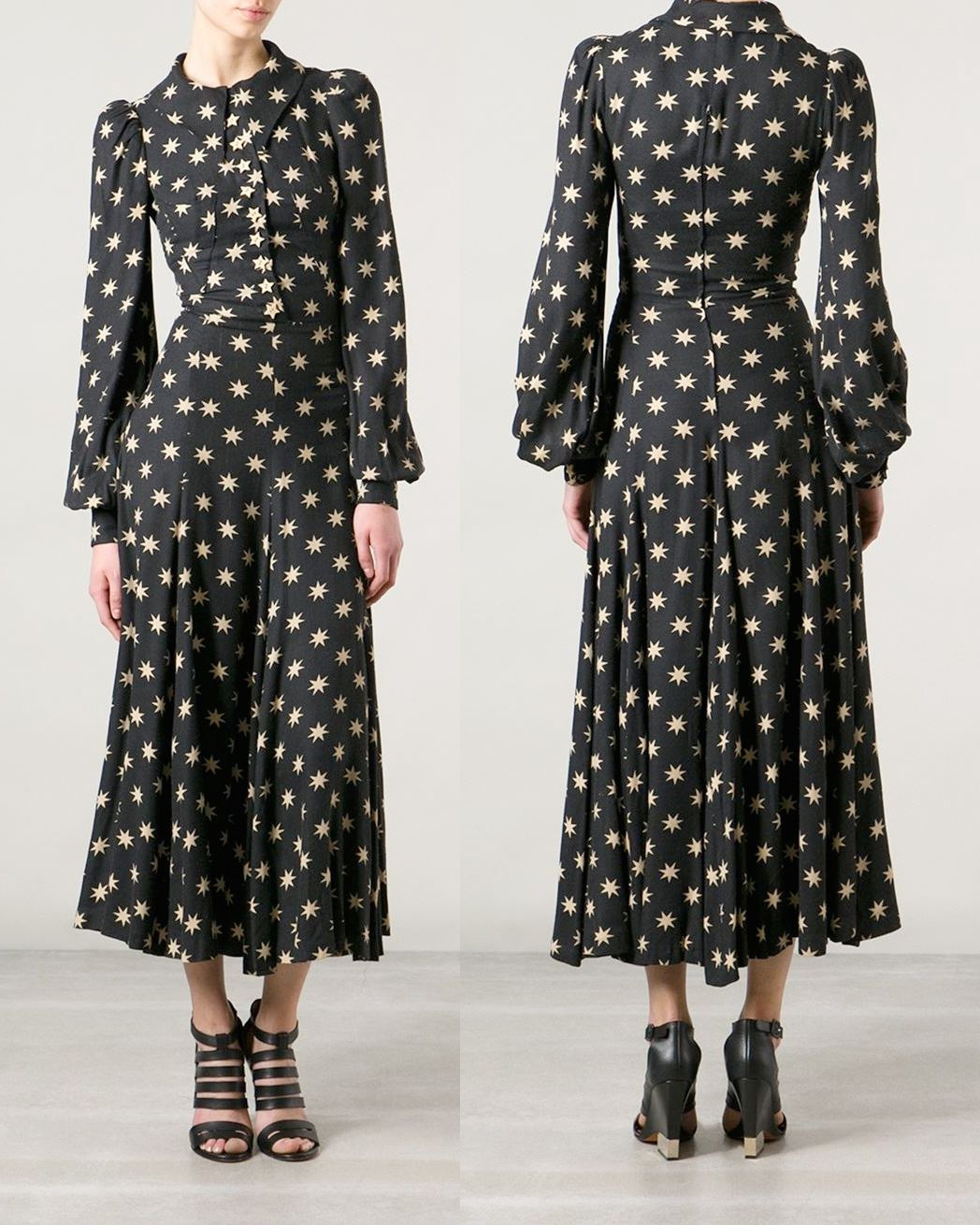 982ca7f79e Vintage Biba Star Print Dress. http   www.farfetch.com