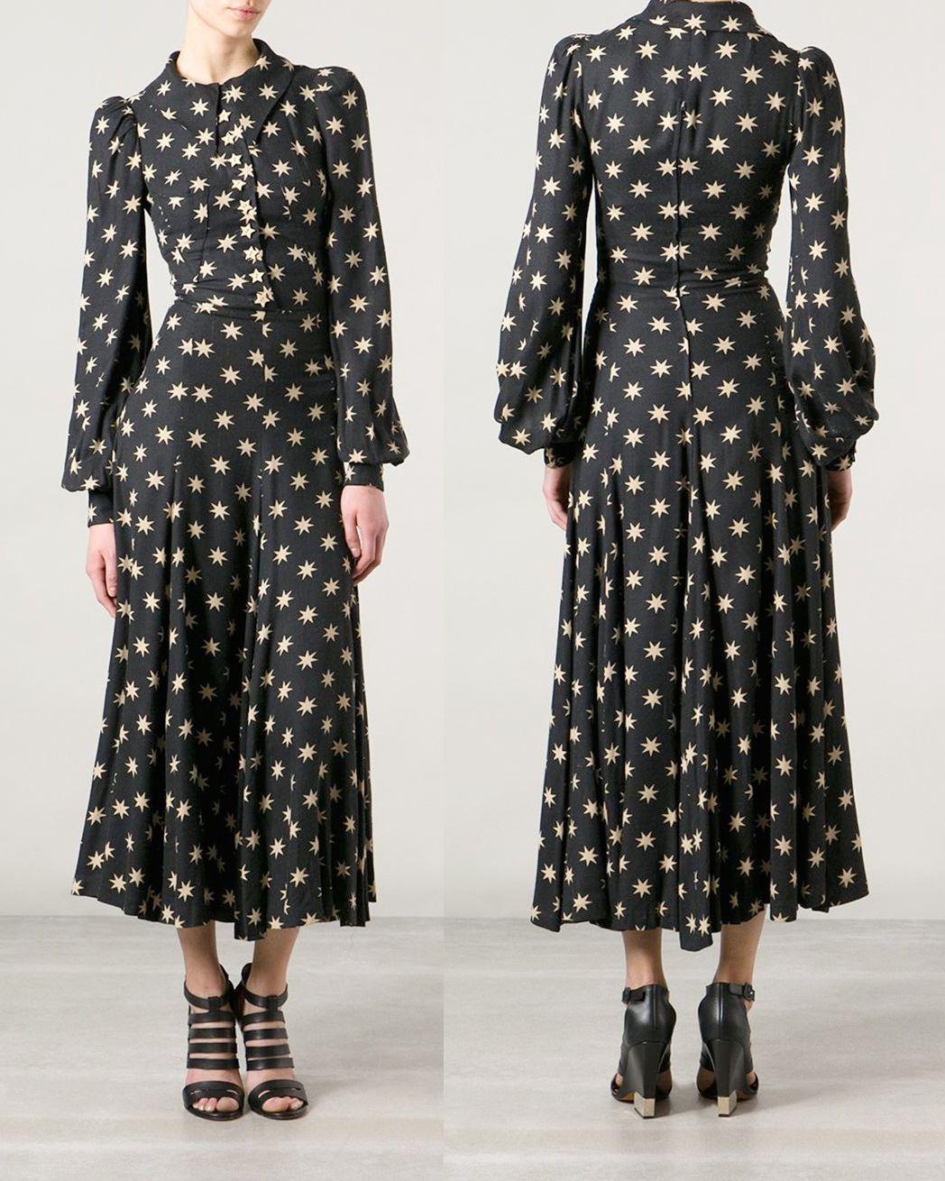 c7212462a7 Vintage Biba Star Print Dress. http   www.farfetch.com