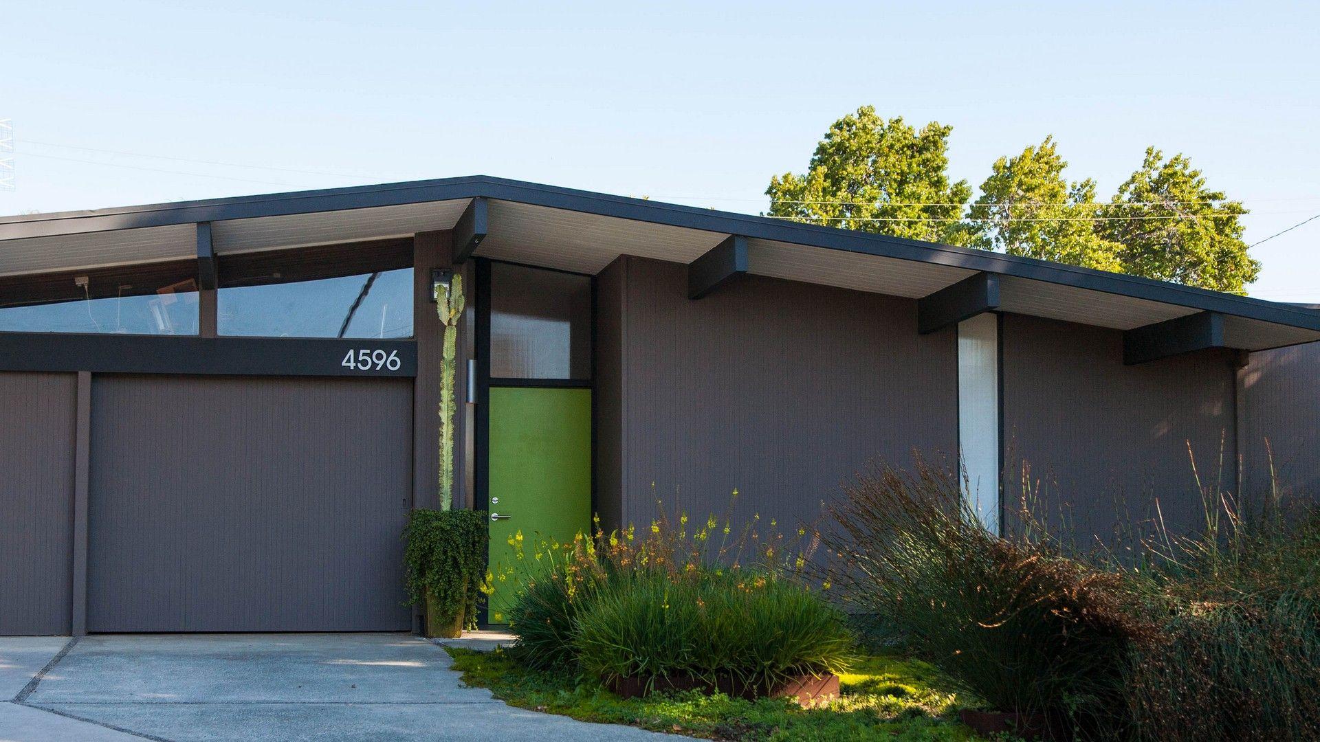 San Jose Eichler Homes South Bay Eichlers Mid Century Modern