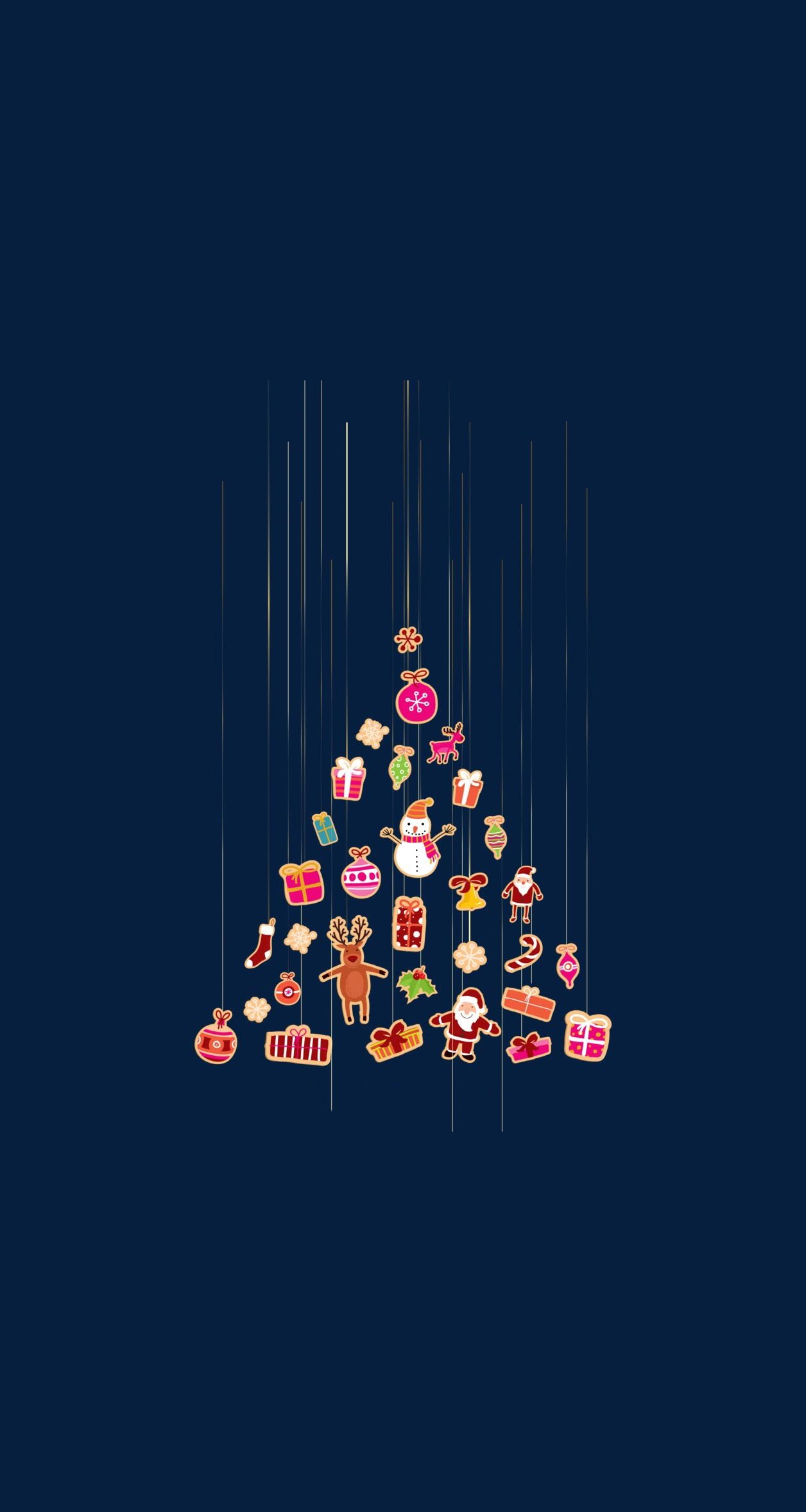 Pin By Madeline Cooper On Cell Phone Wallpaper Cute Christmas