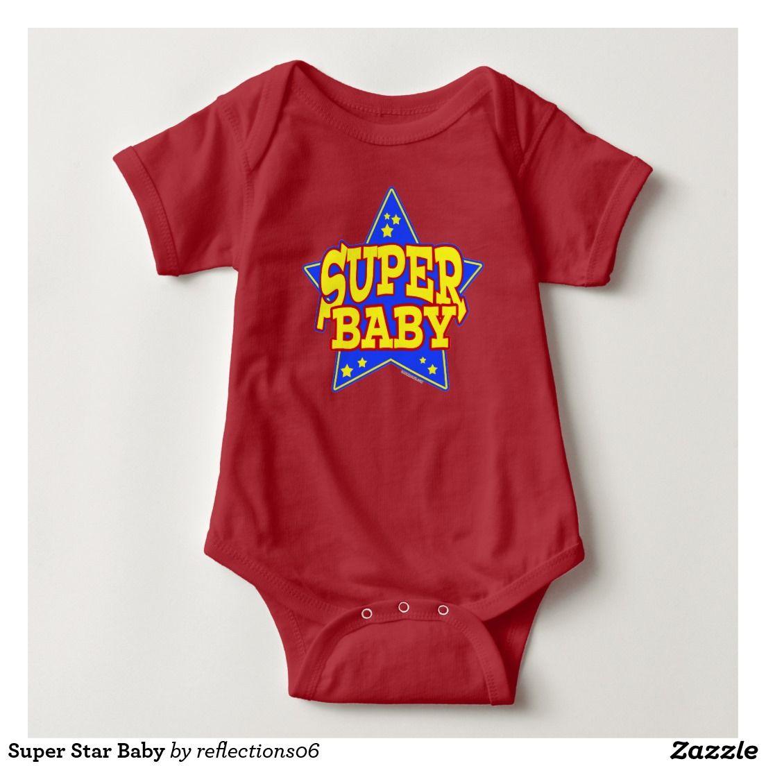 Super Star Baby Baby Bodysuit