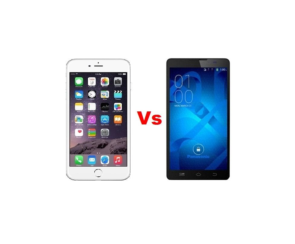 Apple iPhone 6 Plus Vs Panasonic P61 - Specs of Gadgets