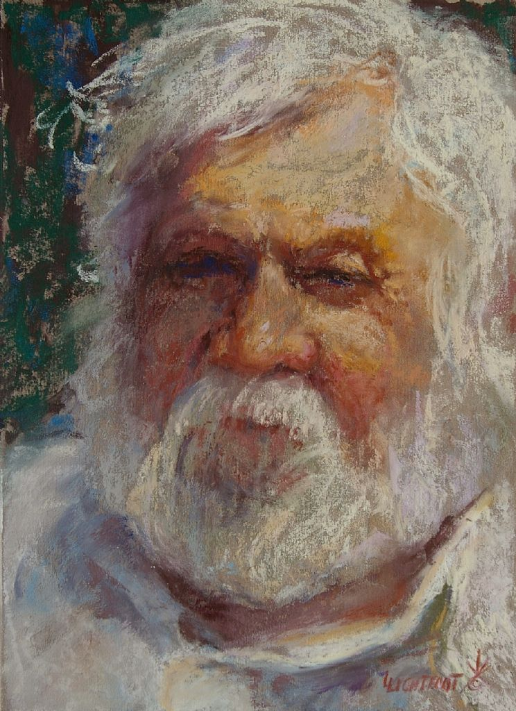 Luverne Lightfoot - Shades of Grey- Pastel - Painting entry - May 2012 | BoldBrush Painting Competition