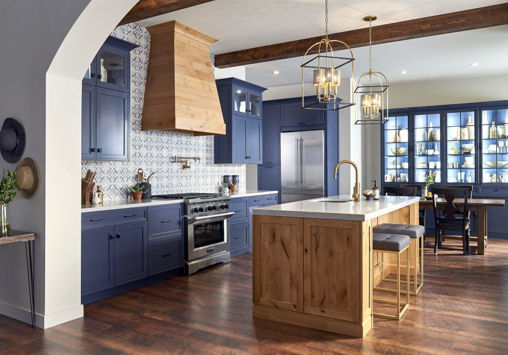 Blue Ash Cabinetry From Ultracraft Cabinetry Spanish Style Kitchen Spanish Kitchen Kitchen And Bath Design