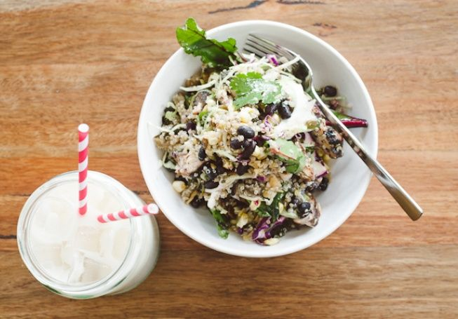 My absolute fav! Fonda's chicken salad. Spring Salads - Food & Drink - Broadsheet Melbourne