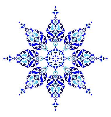 Turkish Design antique ottoman turkish pattern design five vector | motif pattern